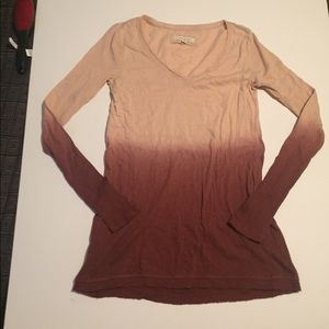 Anthropologie pure and good dip dye tee